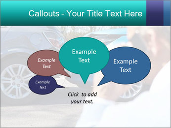 Man Calling Car Insurance PowerPoint Template - Slide 73