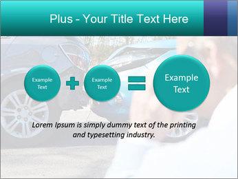 Man Calling Car Insurance PowerPoint Template - Slide 75