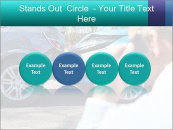 Man Calling Car Insurance PowerPoint Template - Slide 76