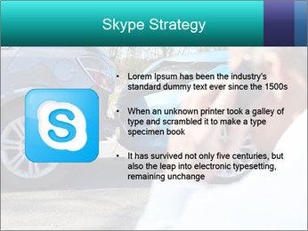 Man Calling Car Insurance PowerPoint Template - Slide 8