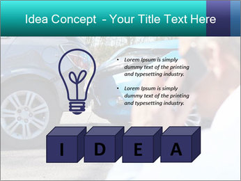 Man Calling Car Insurance PowerPoint Template - Slide 80
