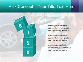 Man Calling Car Insurance PowerPoint Template - Slide 81