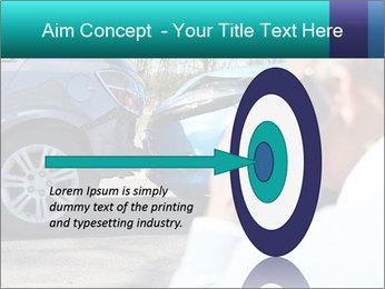 Man Calling Car Insurance PowerPoint Template - Slide 83