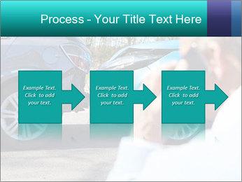 Man Calling Car Insurance PowerPoint Template - Slide 88