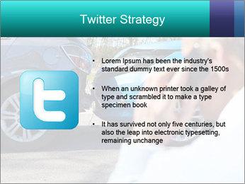 Man Calling Car Insurance PowerPoint Template - Slide 9