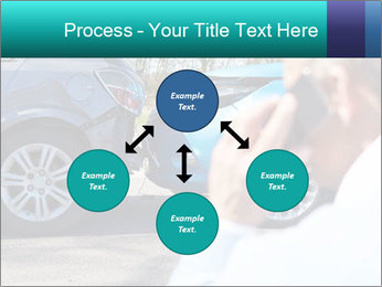 Man Calling Car Insurance PowerPoint Template - Slide 91