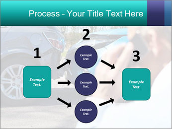 Man Calling Car Insurance PowerPoint Template - Slide 92