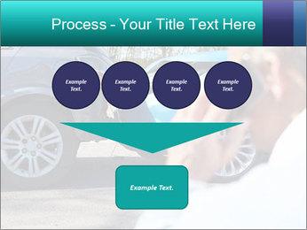 Man Calling Car Insurance PowerPoint Template - Slide 93