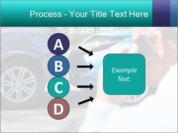 Man Calling Car Insurance PowerPoint Template - Slide 94