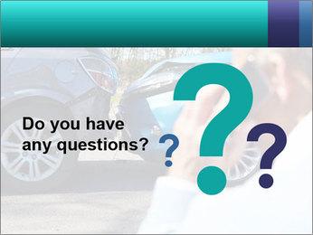 Man Calling Car Insurance PowerPoint Template - Slide 96