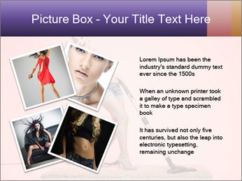 Pinup Woman With Vacuum Cleaner PowerPoint Templates - Slide 23