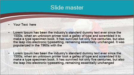 Skilled Workman PowerPoint Template - Slide 2