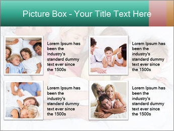 Family Sleeping Together PowerPoint Templates - Slide 14
