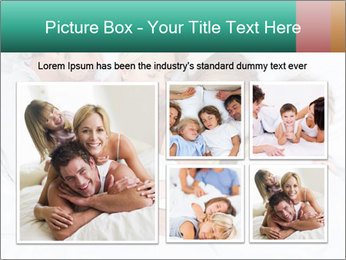 Family Sleeping Together PowerPoint Templates - Slide 19