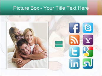 Family Sleeping Together PowerPoint Templates - Slide 21