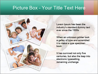 Family Sleeping Together PowerPoint Templates - Slide 23