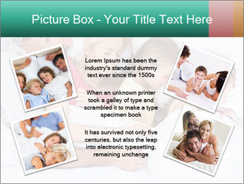 Family Sleeping Together PowerPoint Templates - Slide 24