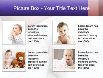 Baby In Sleep PowerPoint Template - Slide 14