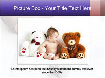 Baby In Sleep PowerPoint Template - Slide 15