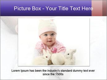 Baby In Sleep PowerPoint Template - Slide 16