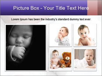 Baby In Sleep PowerPoint Template - Slide 19