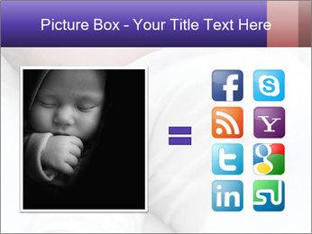 Baby In Sleep PowerPoint Template - Slide 21