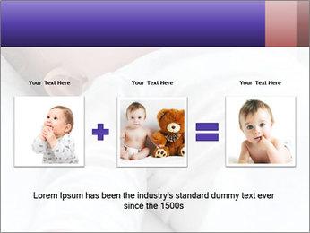 Baby In Sleep PowerPoint Template - Slide 22