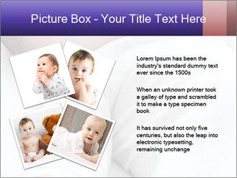 Baby In Sleep PowerPoint Template - Slide 23