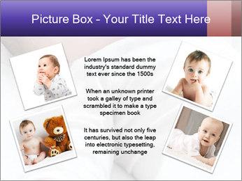 Baby In Sleep PowerPoint Template - Slide 24