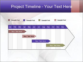 Baby In Sleep PowerPoint Template - Slide 25
