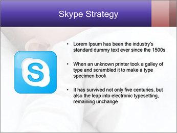 Baby In Sleep PowerPoint Template - Slide 8