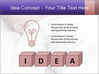 Baby In Sleep PowerPoint Template - Slide 80