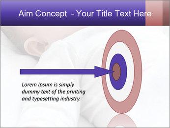 Baby In Sleep PowerPoint Template - Slide 83