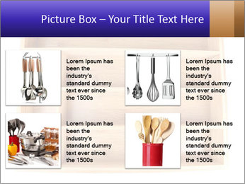 Wooden Book Shelf PowerPoint Templates - Slide 14