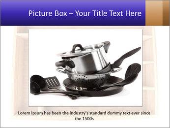 Wooden Book Shelf PowerPoint Template - Slide 15