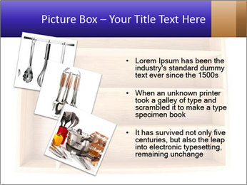 Wooden Book Shelf PowerPoint Templates - Slide 17