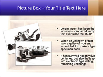 Wooden Book Shelf PowerPoint Templates - Slide 20
