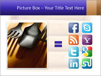 Wooden Book Shelf PowerPoint Templates - Slide 21