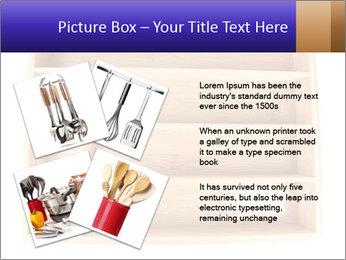 Wooden Book Shelf PowerPoint Template - Slide 23