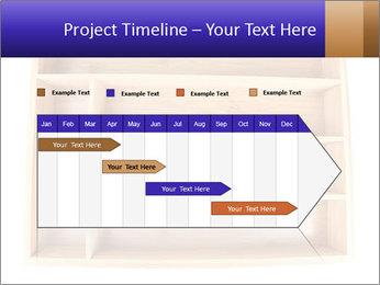 Wooden Book Shelf PowerPoint Template - Slide 25