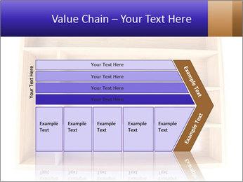 Wooden Book Shelf PowerPoint Template - Slide 27