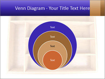 Wooden Book Shelf PowerPoint Templates - Slide 34