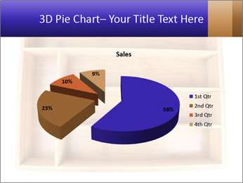 Wooden Book Shelf PowerPoint Templates - Slide 35