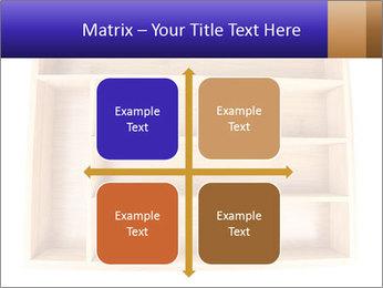 Wooden Book Shelf PowerPoint Template - Slide 37