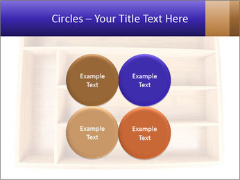 Wooden Book Shelf PowerPoint Templates - Slide 38