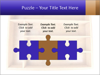 Wooden Book Shelf PowerPoint Template - Slide 42