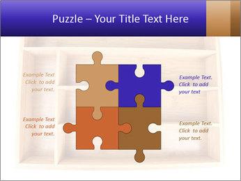 Wooden Book Shelf PowerPoint Template - Slide 43