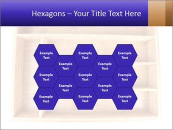 Wooden Book Shelf PowerPoint Template - Slide 44