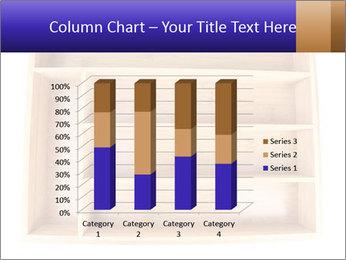 Wooden Book Shelf PowerPoint Template - Slide 50