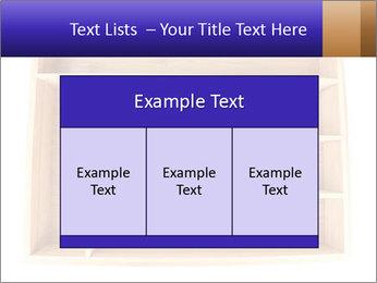 Wooden Book Shelf PowerPoint Template - Slide 59
